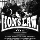 LIONS LAW – NEW SONG INCL. VIDEO!