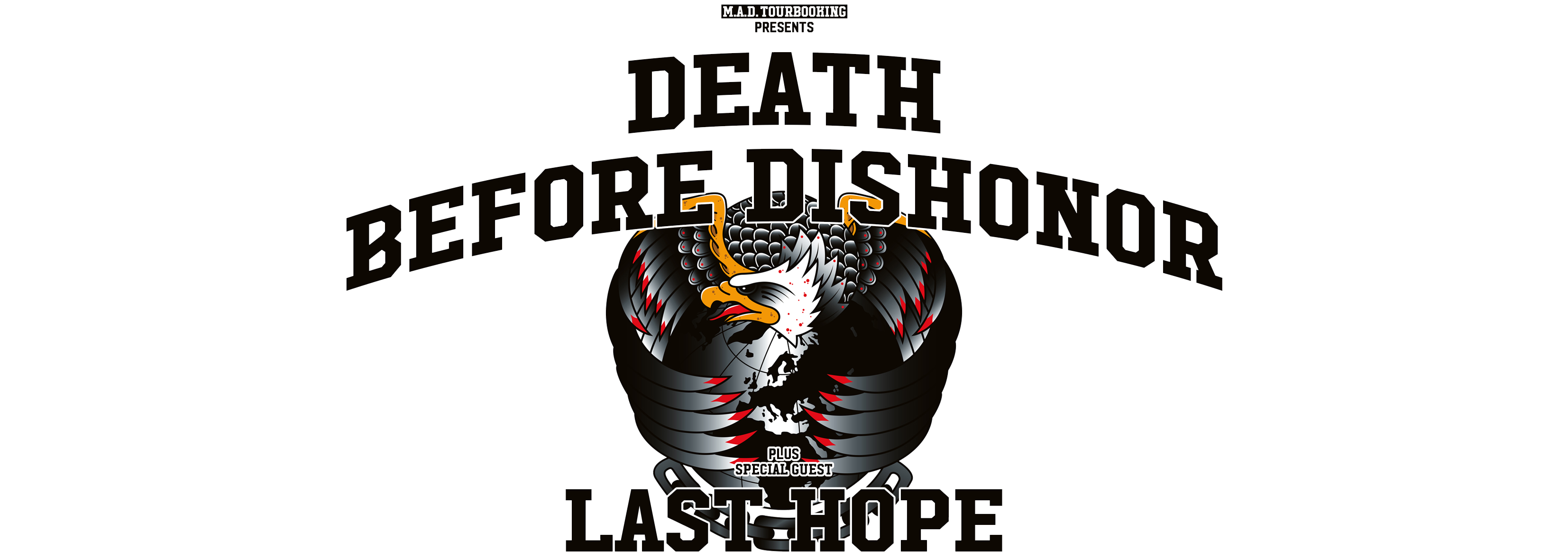 DEATH BEFORE DISHONOR - NOVEMBER TOUR 2017