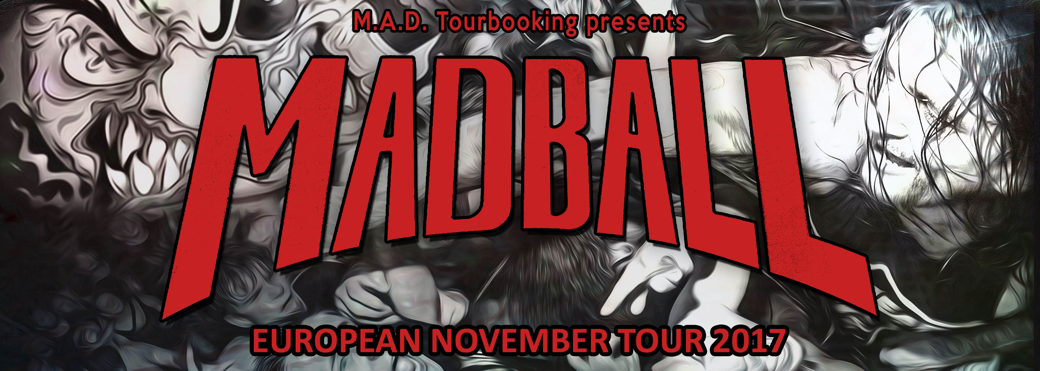 MADBALL  - NOVEMBER TOUR 2017