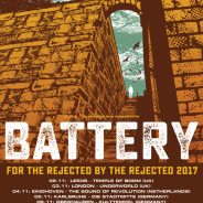 BATTERY – TOUR IS STARTING TODAY