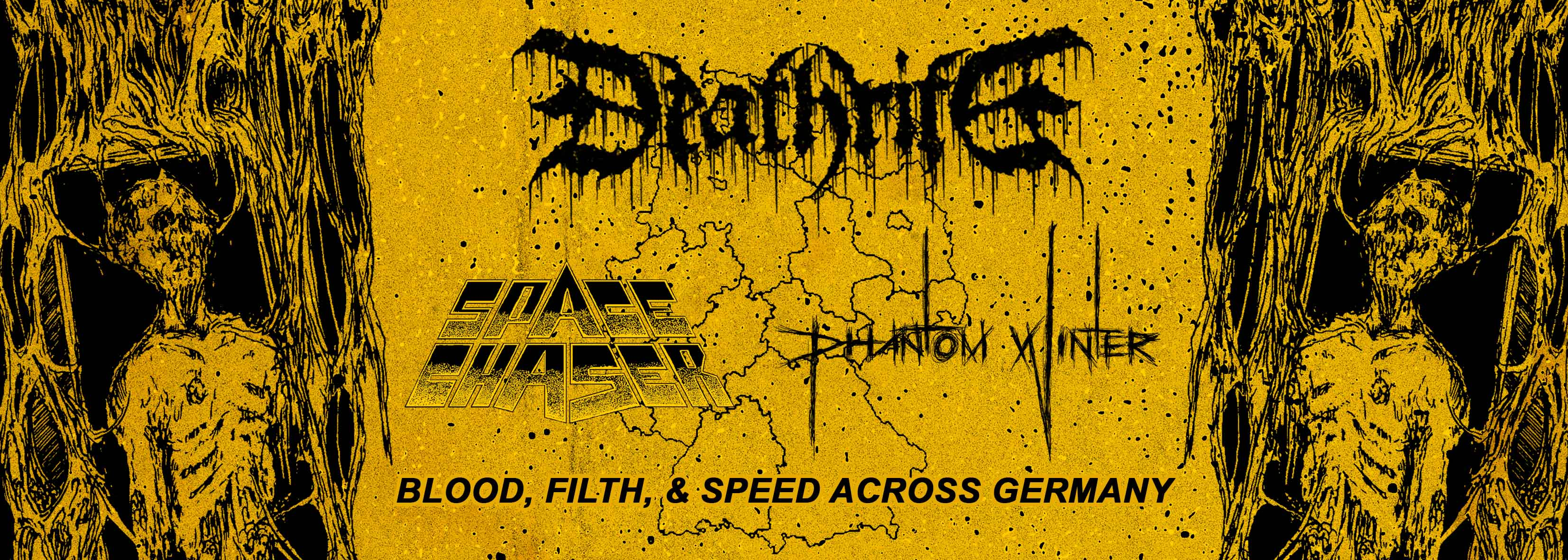 DEATHRITE - BLOOD, FILTH & SPEED ACROSS GERMANY
