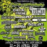 PUNK & DISORDERLY final lineup
