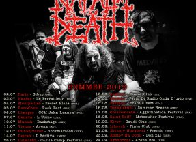 NAPALM DEATH Summer Dates