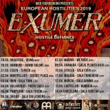 "EXUMER ""European Hostilities 2019"" tour dates!"